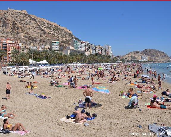 Alicante, España, ciudad histórica y turística, ideal para visitar