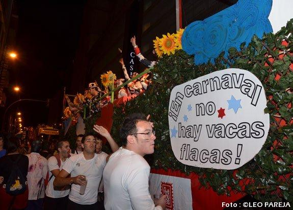 A pesar de la crisis, la alegría reina en los carnavales