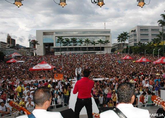 Olímpica Stéreo realizó concierto en Pereira