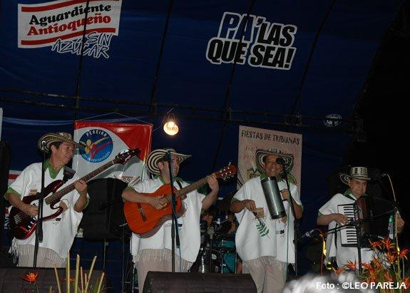 Cuarteto Imperial y Luisito Muñoz ofrecieron concierto