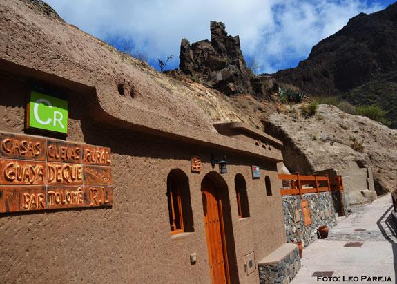 Turismo: Cuevas de Guayadeque en Gran Canaria
