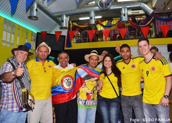 Colombianos celebraron su fiesta nacional en Elephant & Castle