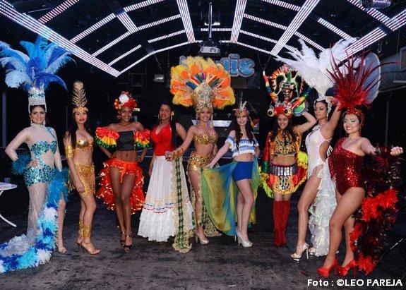 Noche de Fantasía con candidatas a Miss Latin Britain