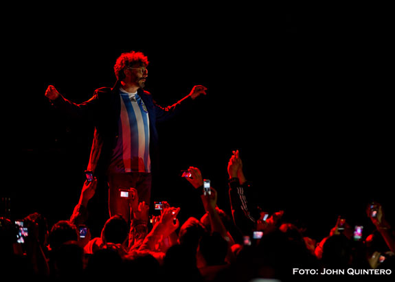Fito Páez ovacionado tras concierto en Londres