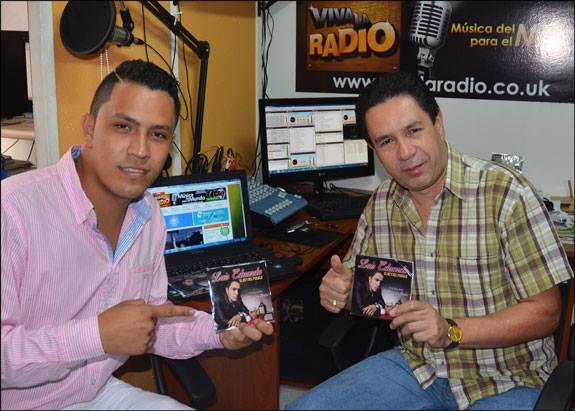 Luis Eduardo con Leo Pareja