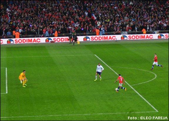Chile hace historia y vuelve a vencer a Inglaterra en Wembley
