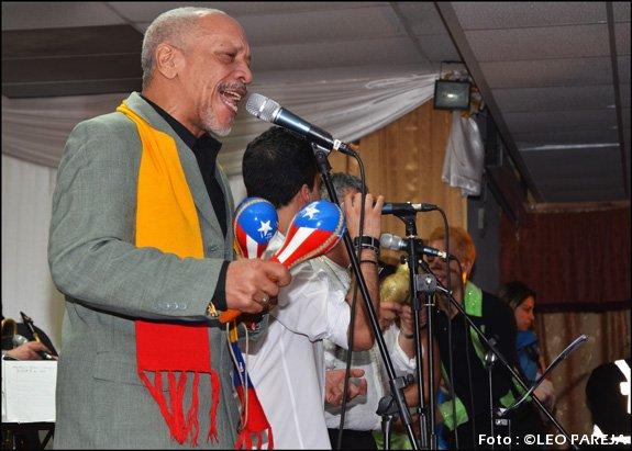 Salseros vibraron en concierto de Ismael Rivea Jr. en Londres