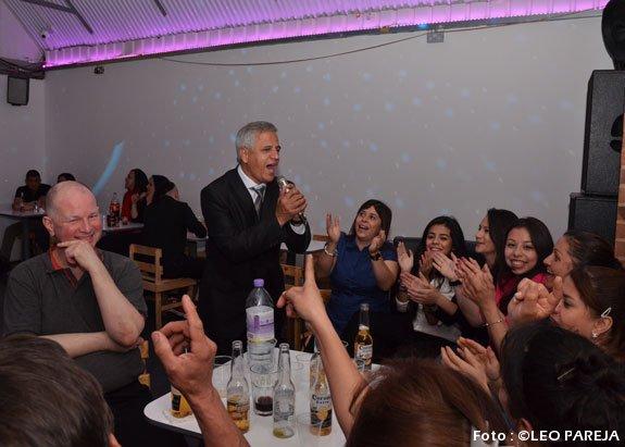 El cantante Leo Rojas, culmina gira por Londres