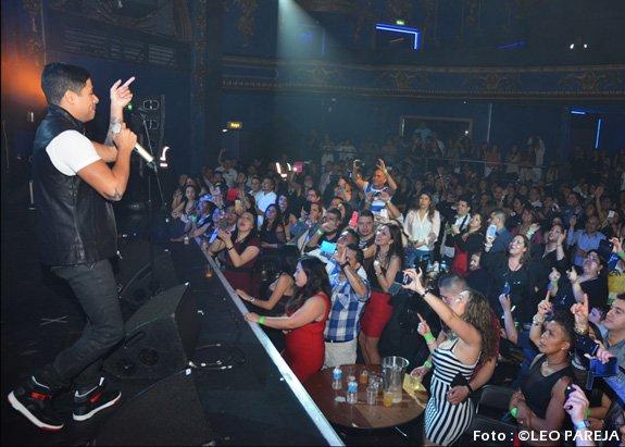 Daniel Calderón y Los Gigantes, vibrante concierto en Londres