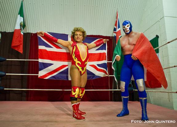 Lucha Libre, de México a Londres, espectáculo puro