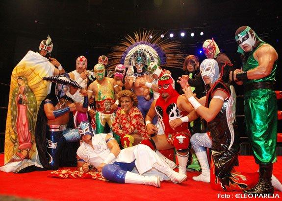 Lucha Libre, exitoso y colorido espectáculo