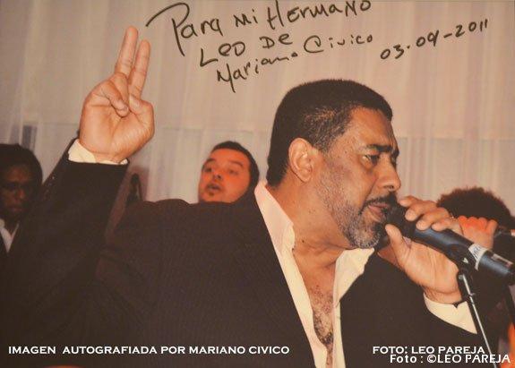 Fallecimiento de Mariano Cívico enluta a la salsa