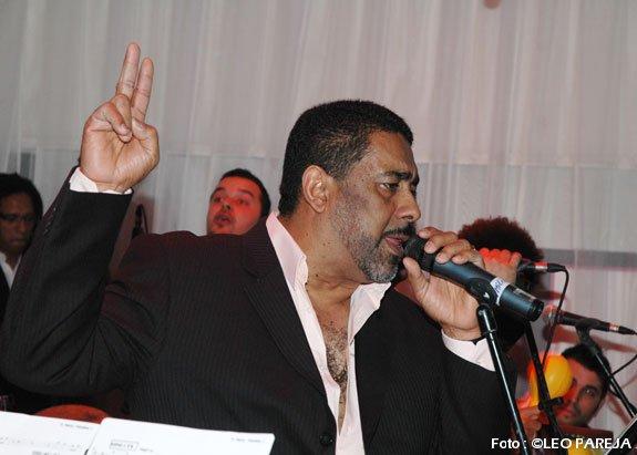 El salsero Mariano Cívico actuó en Las Palmas