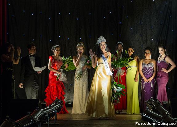 Yanthay Morales elegida Miss Latin Britain 2013