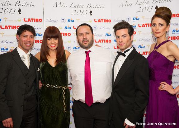 El 27 de Abril coronación de Miss Latin Britain 2013