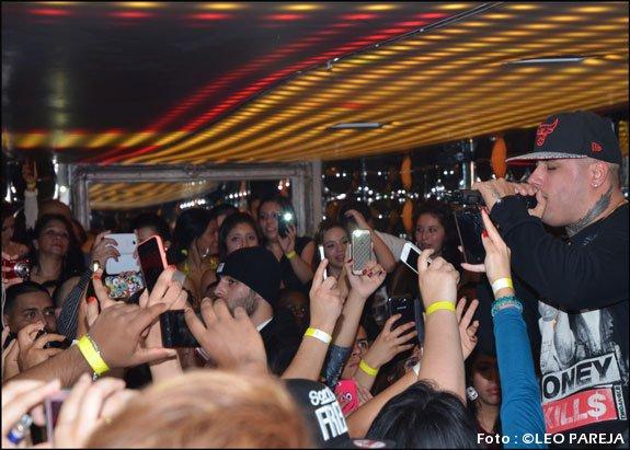 Nicky Jam desata euforia en su debut en Londres