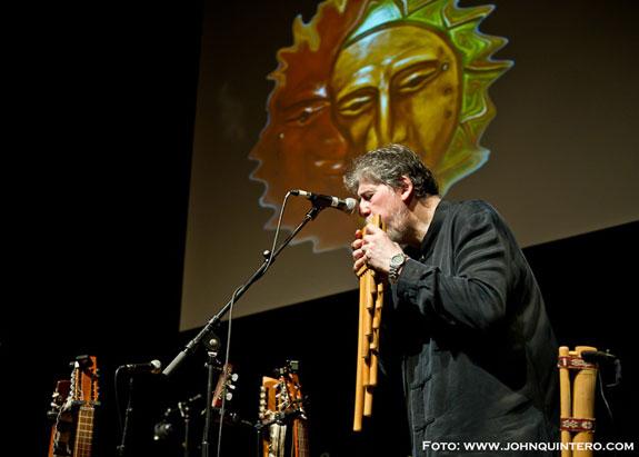 Quimantu, folklor andino aplaudido en concierto