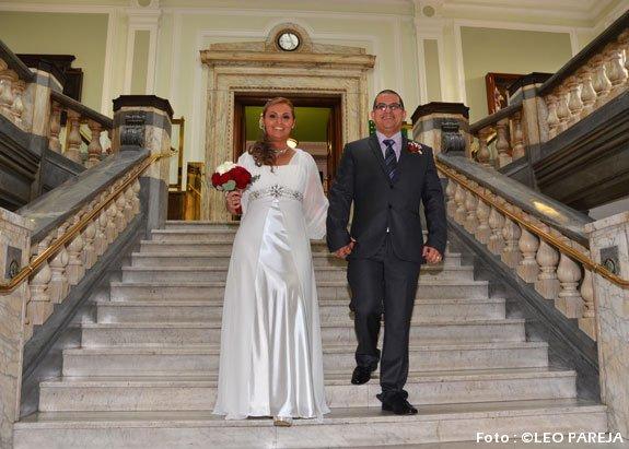 Tatiana Ruiz y Diego Jaramillo contraen boda