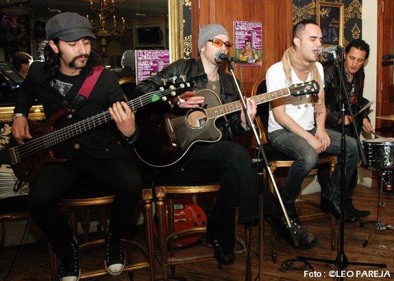 The Hall Effect, rock de Colombia en Londres