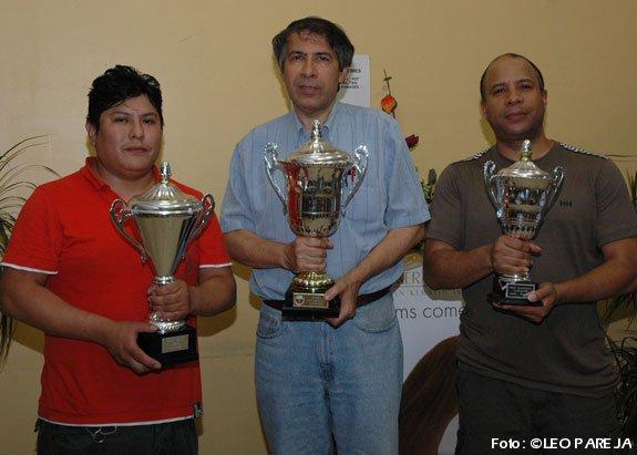 Alberto Rojas gana VI Torneo de Ajedrez