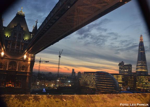 Londres:Panorámicas desde El Puente de la Torre