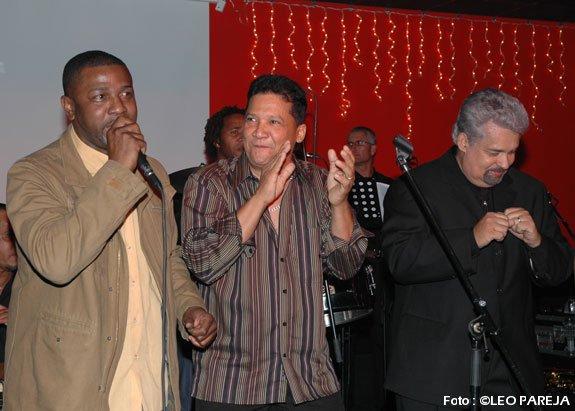 Jhon Lozano, Hildemaro y Nino Segarra en concierto