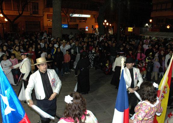 Reina Latina movió el Carnaval de Alicante