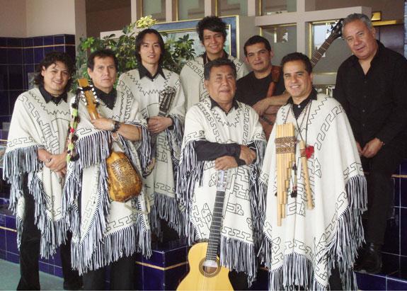 Los Kjarkas bolivianos actuarán en Londres