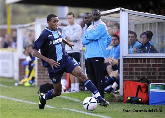 Cristian Montaño con paso firme en West Ham Utd