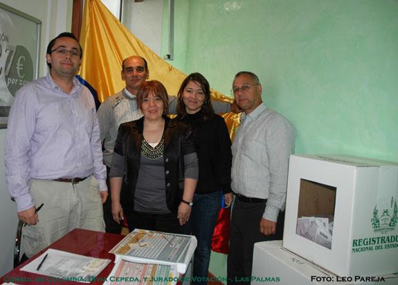Colombianos votaron por primera vez en Las Palmas