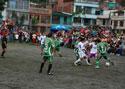 Artistas juegan partido de fútbol con elenco de RCN