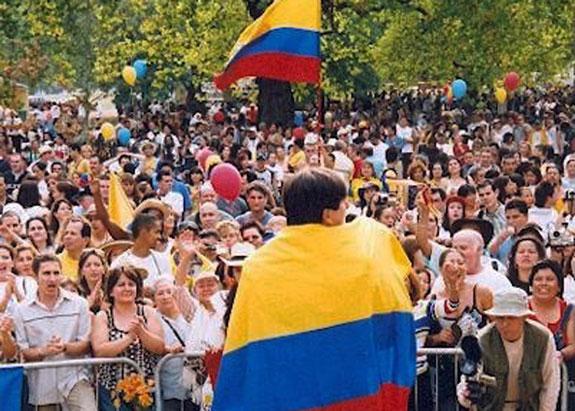 Julio 17: Celebración fiesta nacional de Colombia
