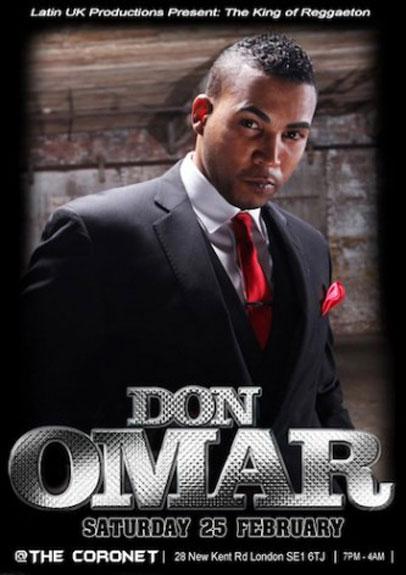 Don Omar, regresa a Londres en gira 2012