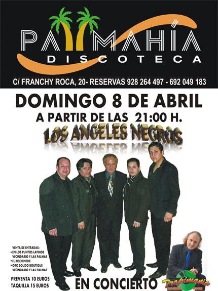 Los Angeles Negros, este domingo en Las Palmas
