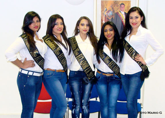 Sábado 14 de abril eligen a Miss Ecuador UK 2012