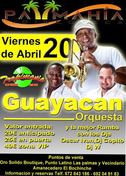 Guayacán Orquesta, el viernes 20 en Las Palmas