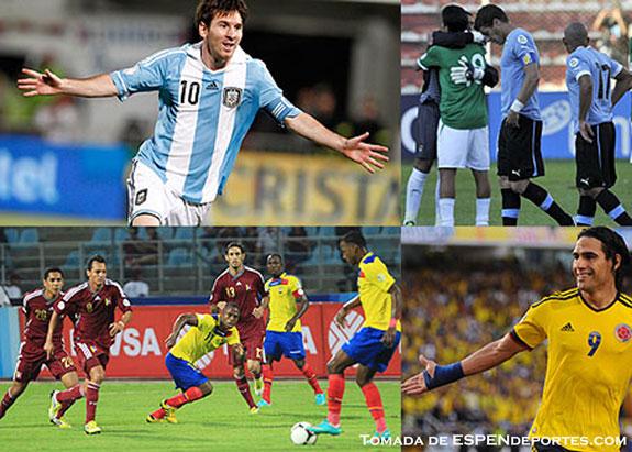 Argentina, Ecuador y Colombia, firmes camino a Brasil