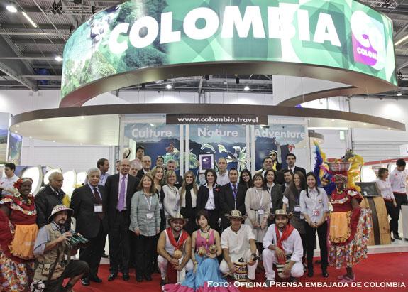 """Colombia:""""Destino Revelación"""" en Feria de Turismo"""