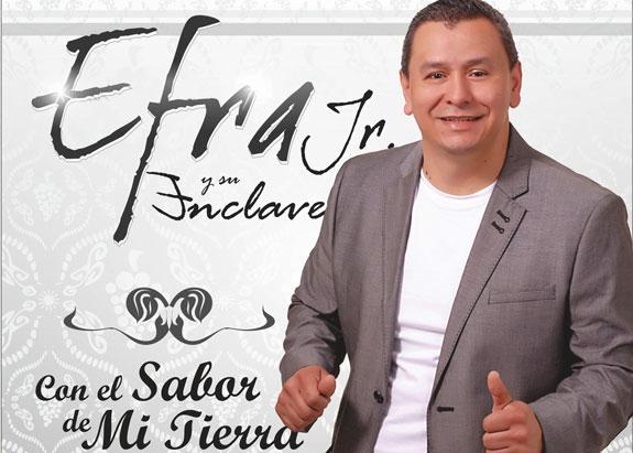 """A ritmo de salsa """"Con qué coraje"""" lo nuevo de Efra Jr."""