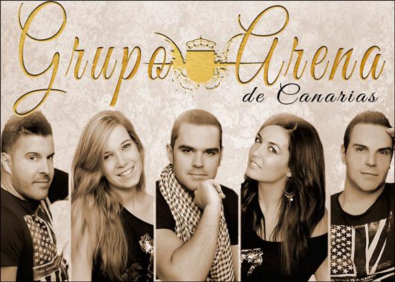 Grupo Arena de Canarias lanza primer disco inédito