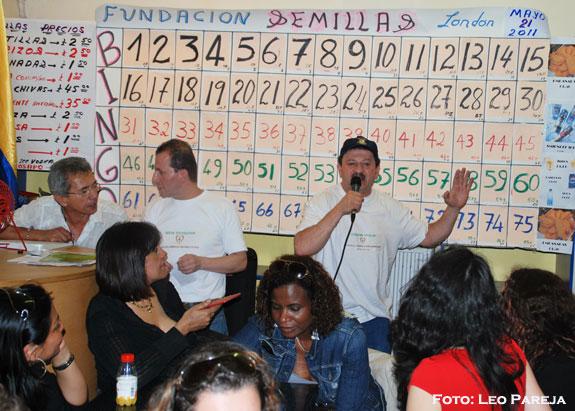 Mayo 18: Bingo solidario de la Fundación Semillas
