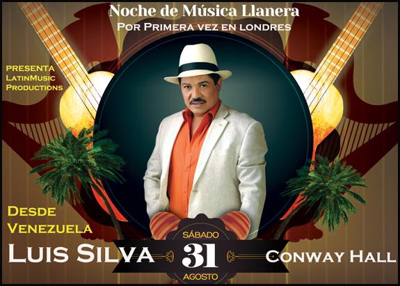 Agosto 31: Concierto llanero con Luis Silva de Venezuela
