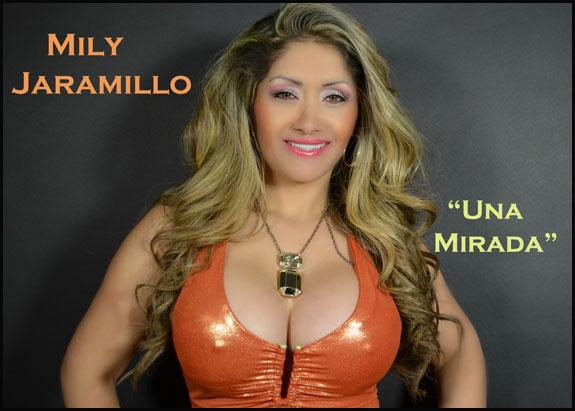 """Mily Jaramillo presenta su álbum """"Una mirada"""""""