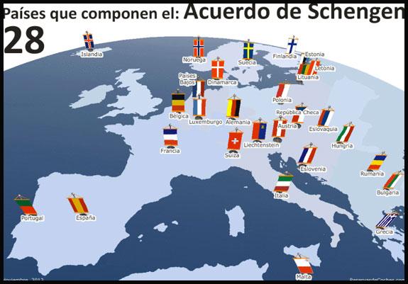 Eliminación de visa Schengen entrará en vigor el 4 de diciembre