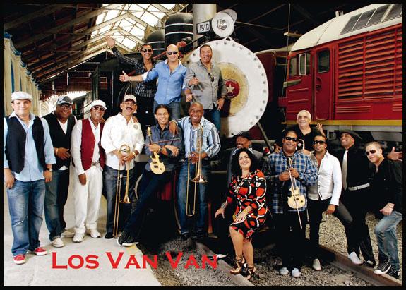 26 de Octubre: Los Van Van de Cuba vuelven a Londres