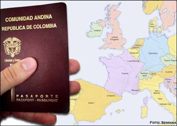 Parlamento aprobó retirar visa Schengen a colombianos y peruanos