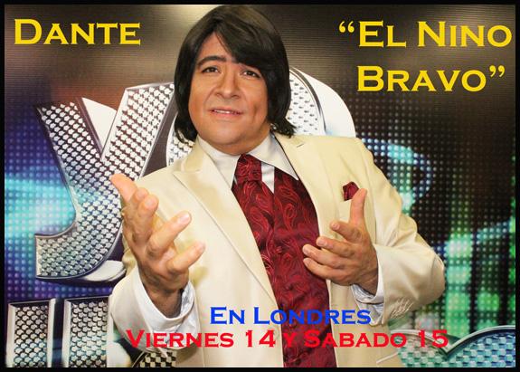 """Dante, """"El Nino Bravo"""" de Yo Me Llamo en Londres"""