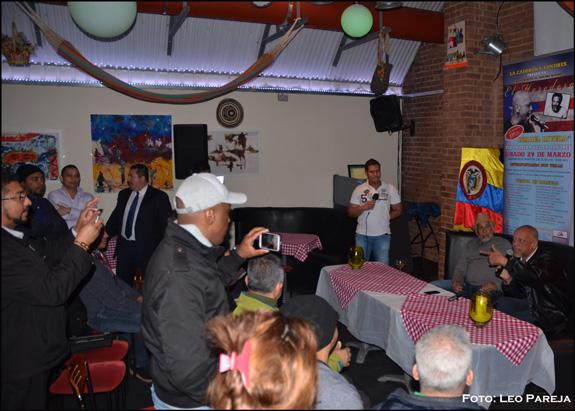 "Ismael Rivera Jr. en Londres: ""Vine a guarachar con mi gente""."