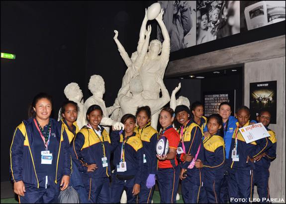 Colombia participa en Festival Internacional de Rugby