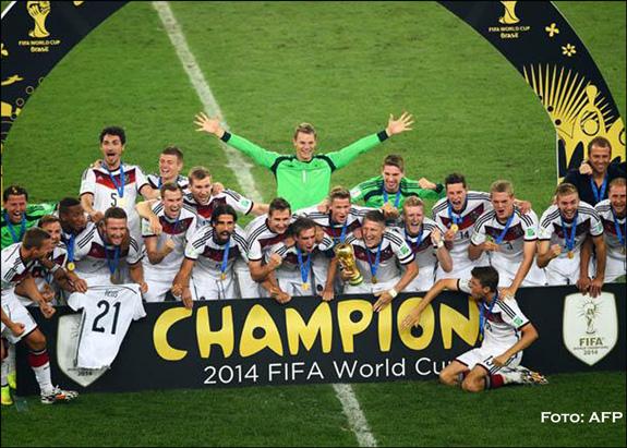 Alemania se quedó con la Copa del Mundo de Brasil